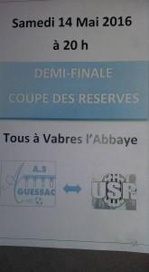 affiche coupe des réserves