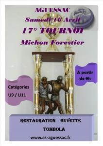 Affiches Tournoi Michou 2016